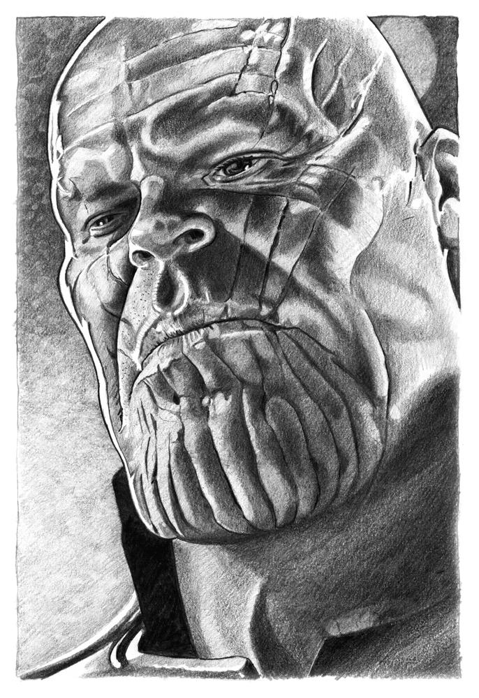 Thanos, Josh Brolin by StephenAbbott